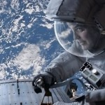 George Clooney in the film, Gravity
