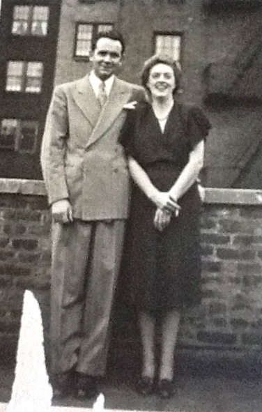 Gail's parents in New York in the 1930's