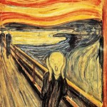 Edvard Munch painting, The Scream