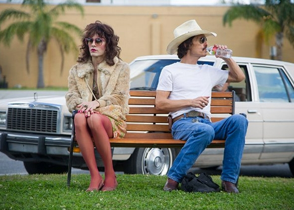 Jared Leto and Matthew McConaughey in Dallas Buyer's Club