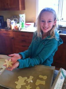 Baking Christmas cookies 2012