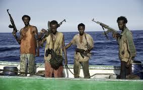 Somali pirates in the movie Captain Phillips