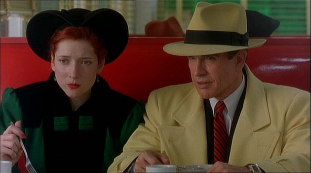Tess Trueheart and Dick Tracy