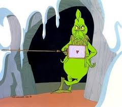 The Grinch's heart was two times too small.