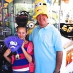 Minion-mania at Universal Studios.