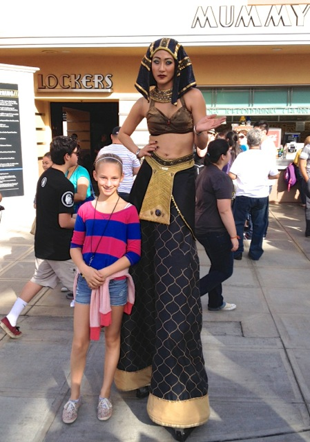 Egyptian Queen at Universal Studios