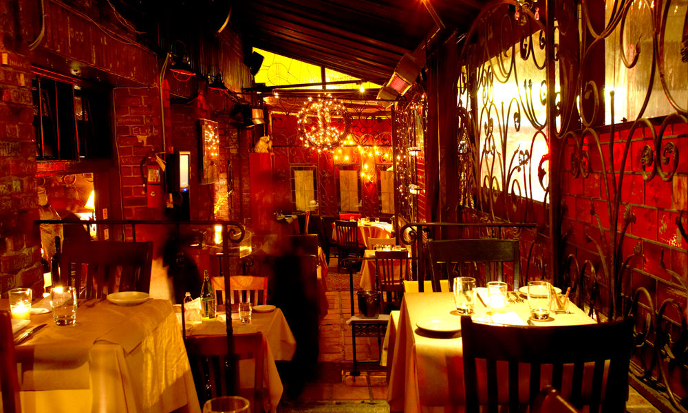 The uber-romantic Pace Restaurant in Laurel Canyon, California