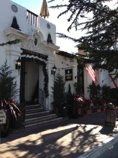 Doris Day's Cypress Inn, Carmel,  where dogs are 1st class citizens.