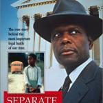 "Sidney Portier as Thurgood Marshall in ""Separate But Equal"""