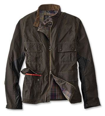 Barbour's Lightweight Chico Waxed Cotton Jacket for Father's Day. Trueheartgal.