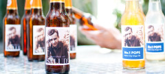 Pinhole Press bottle labels are a great idea for a homemade Father's Day Gift.