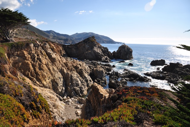 Big Sur, California, just a few minutes south of Carmel-by-the-Sea