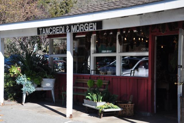 Tancredi & Morgen, just south of Carmel-by-the-Sea.