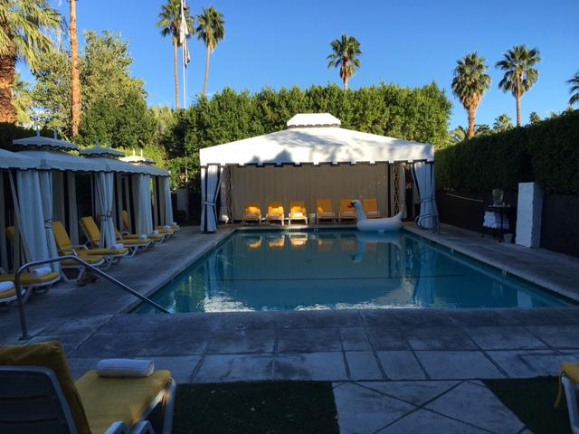 Avalon Palm Springs hotel, Palm Springs, senior travel, desert get-away