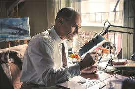 Mark Rylance in his Oscar nominated performance in Bridge of Spies, Mark Rylance, Bridge of Spies, Tom Hanks, Oscars, Academy Awards, Best Supporting Actor nominee, Best-Supporting-Actor, Trueheartgal